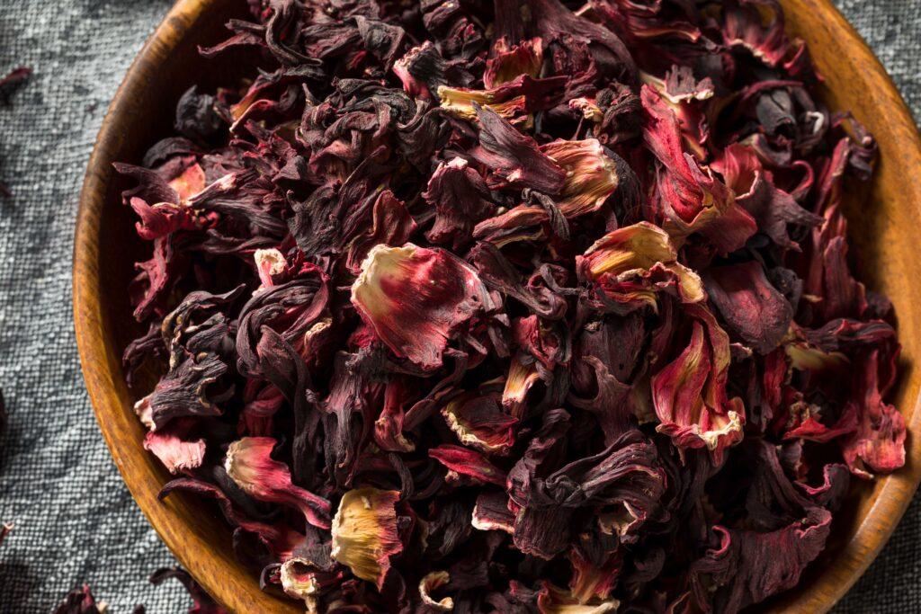 Dry Organic Jamaica Flower Hibiscus for Tea