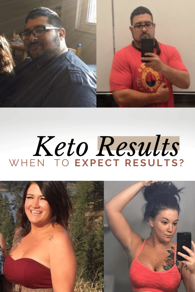 How long does it take to see results on keto?