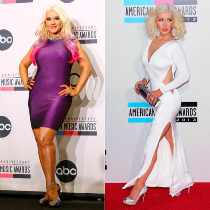 Christina Aguilera weight loss transformation