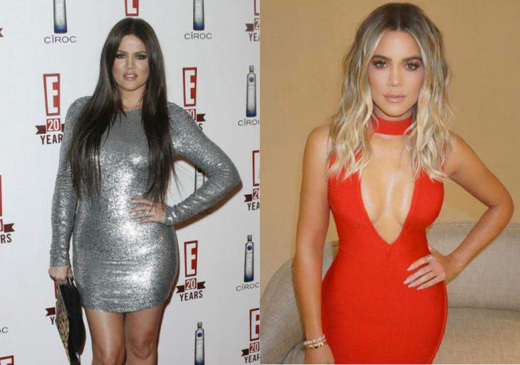 Khloé Kardashian weight loss