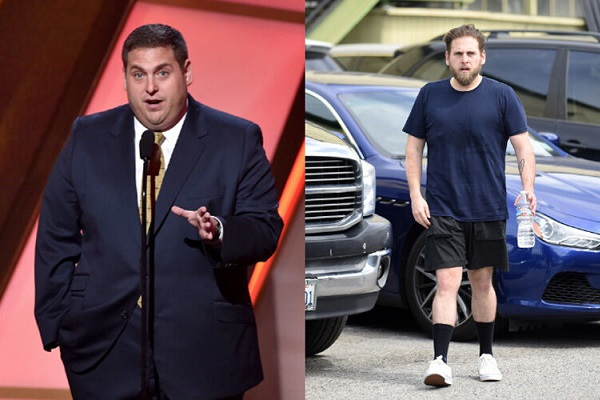 Jonah Hill weight loss before after